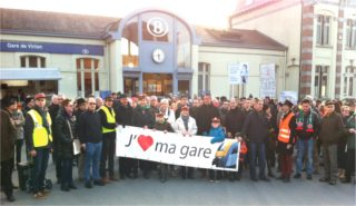 Mobilisés pour une gare ouverte, accueillante et sûre à Virton
