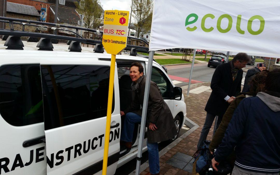 TEC – Ecolo se bat pour un bus express Marche – Liège