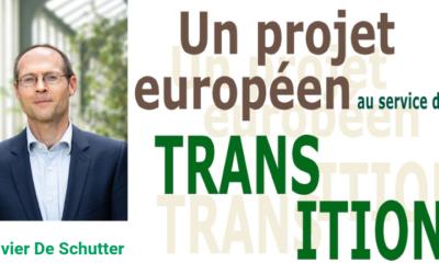 Conférence-débat avec Olivier De Schutter sur la transition