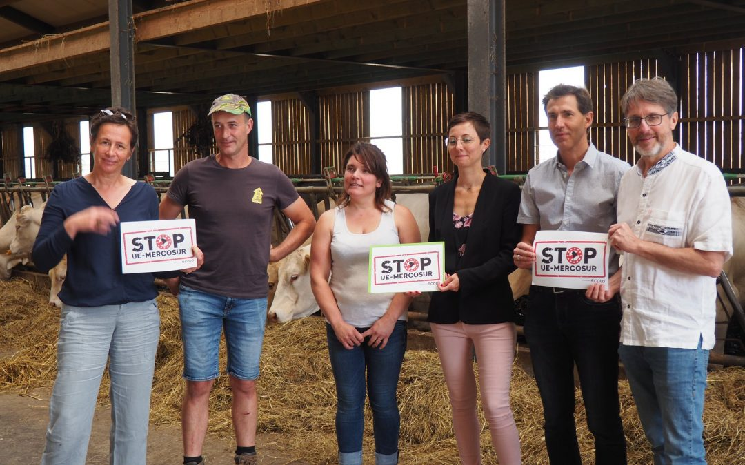 ECOLO Luxembourg dit STOP à l'accord EU-Mercosur