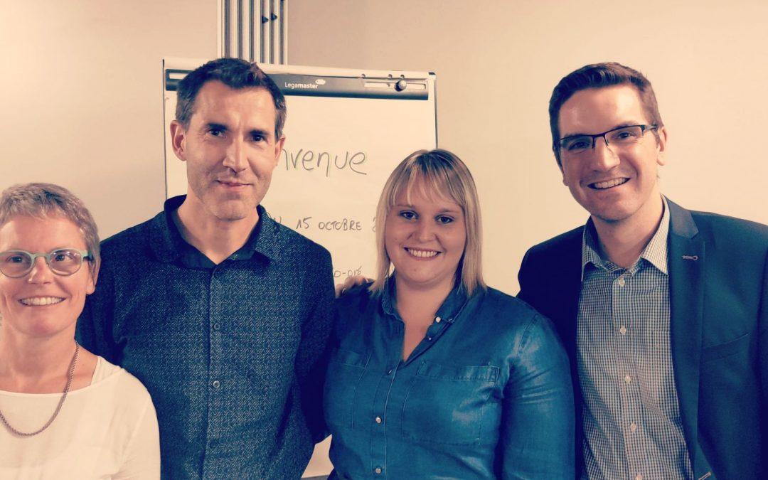Une nouvelle coprésidence pour ECOLO Luxembourg